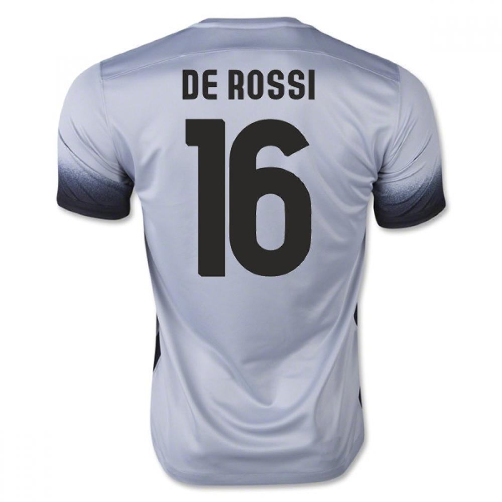 2015-16 Roma 3rd Shirt (De Rossi 16) - Kids
