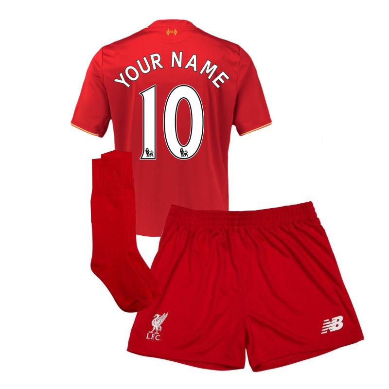 2015-2016 Liverpool Home Mini Kit (Your Name)