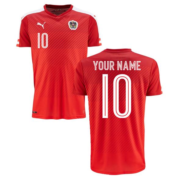 2016-2017 Austria Home Shirt (Your Name) -Kids