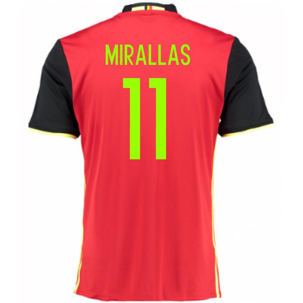 2016-2017 Belgium Home Shirt (Mirallas 11) - Kids