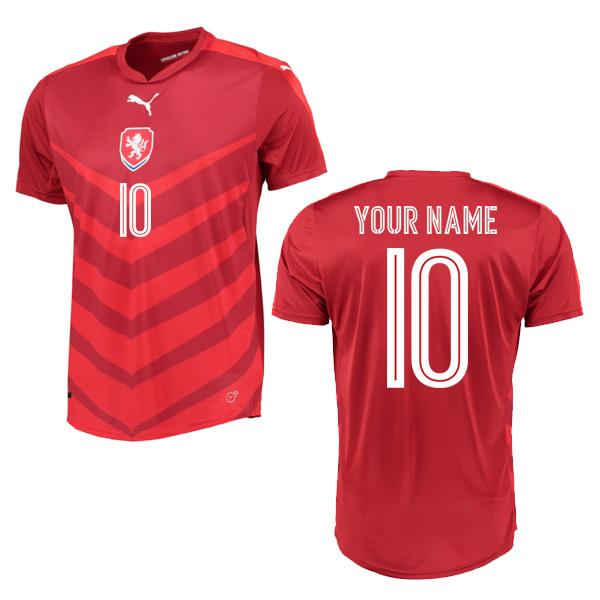 2016-2017 Czech Republic Home Shirt (Your Name)