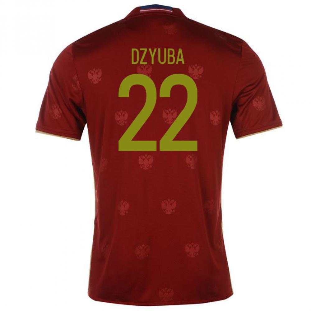 2016-2017 Russia Home Shirt (Dzyuba 22)