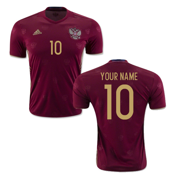 2016-2017 Russia Home Shirt (Your Name)