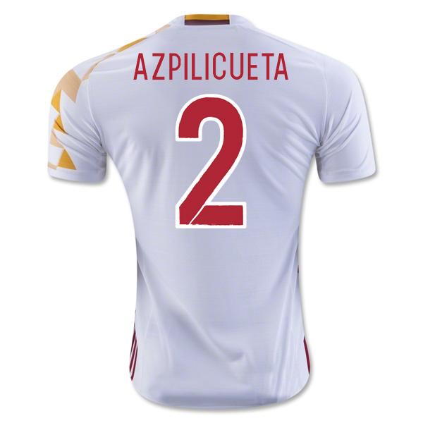 2016-2017 Spain Adidas Away Shirt (Azpilicueta 2) - Kids