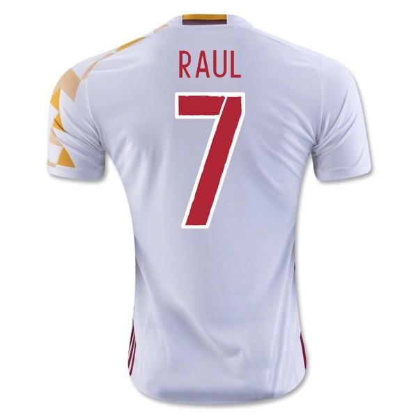 2016-2017 Spain Adidas Away Shirt (Raul 7)