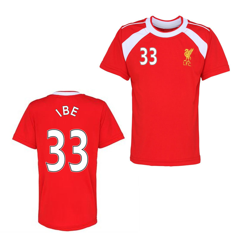 Official Liverpool Training T-Shirt (Red) (Ibe 33)