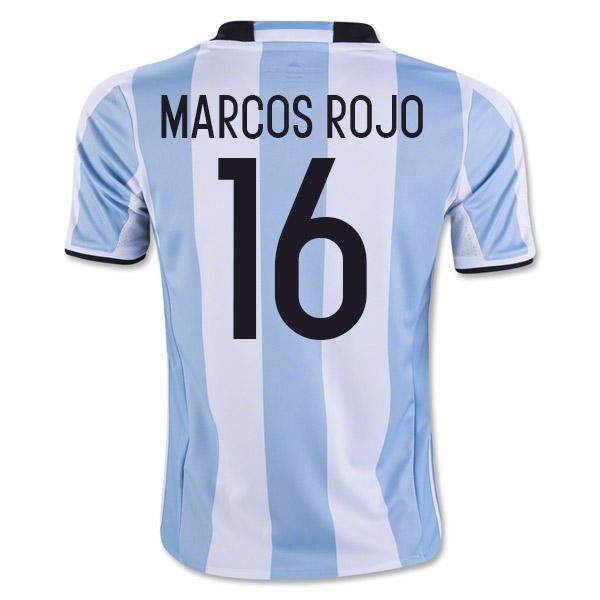 2016-17 Argentina Home Shirt (Marcos Rojo 16)