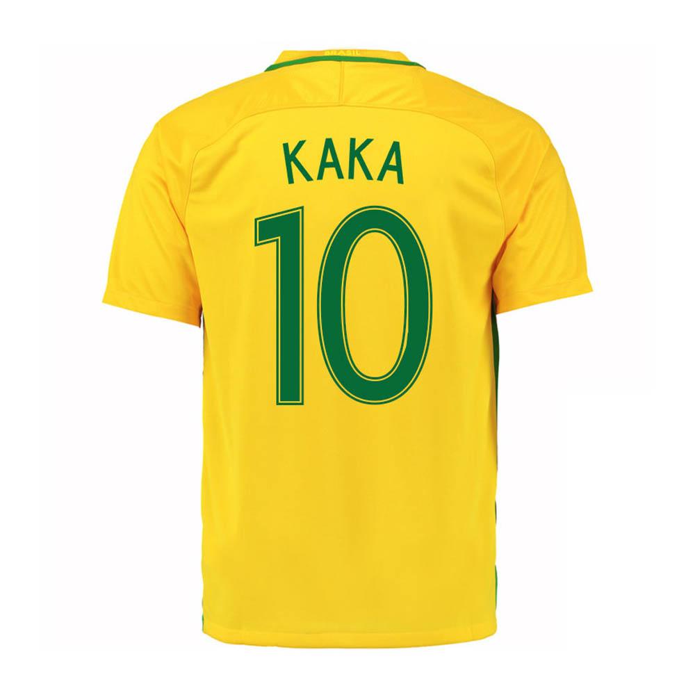 2016-17 Brazil Home Shirt (Kaka 10)