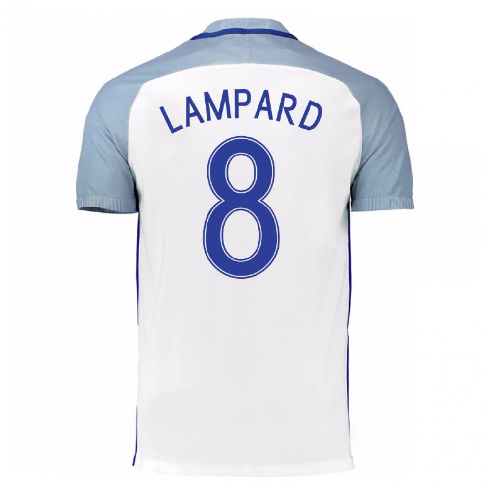 2016-17 England Home Shirt (Lampard 8) - Kids