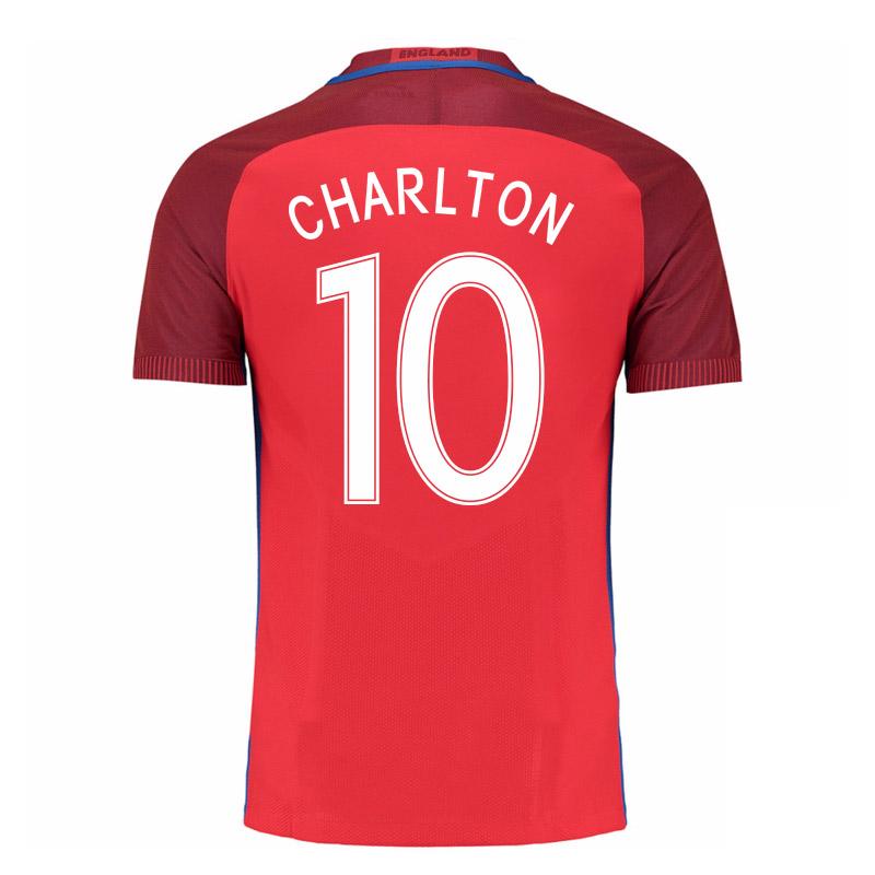 2016-17 England Away Shirt (Charlton 10) - Kids