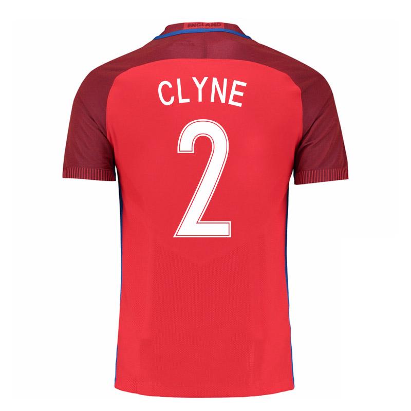 2016-17 England Away Shirt (Clyne 2) - Kids