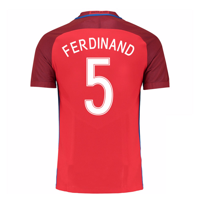 2016-17 England Away Shirt (Ferdinand 5) - Kids