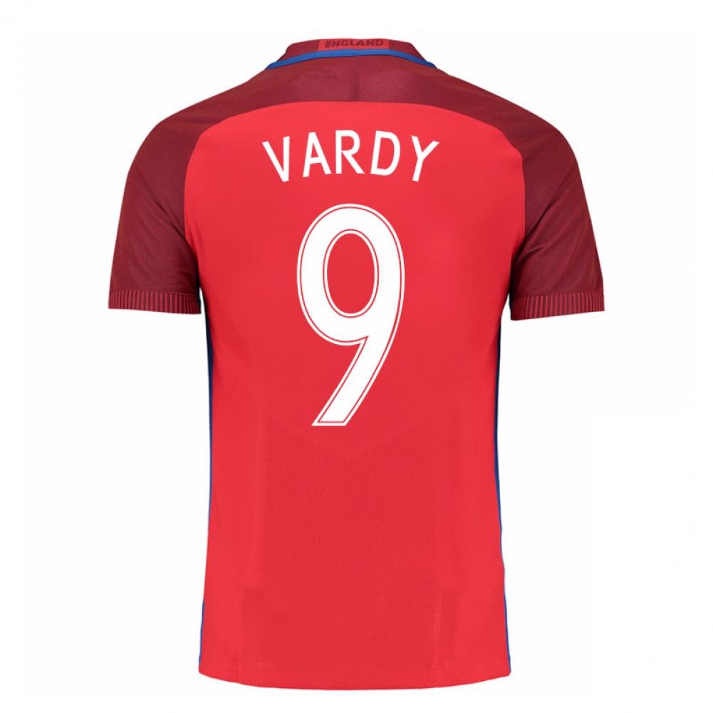 2016-17 England Away Shirt (Vardy 9) - Kids