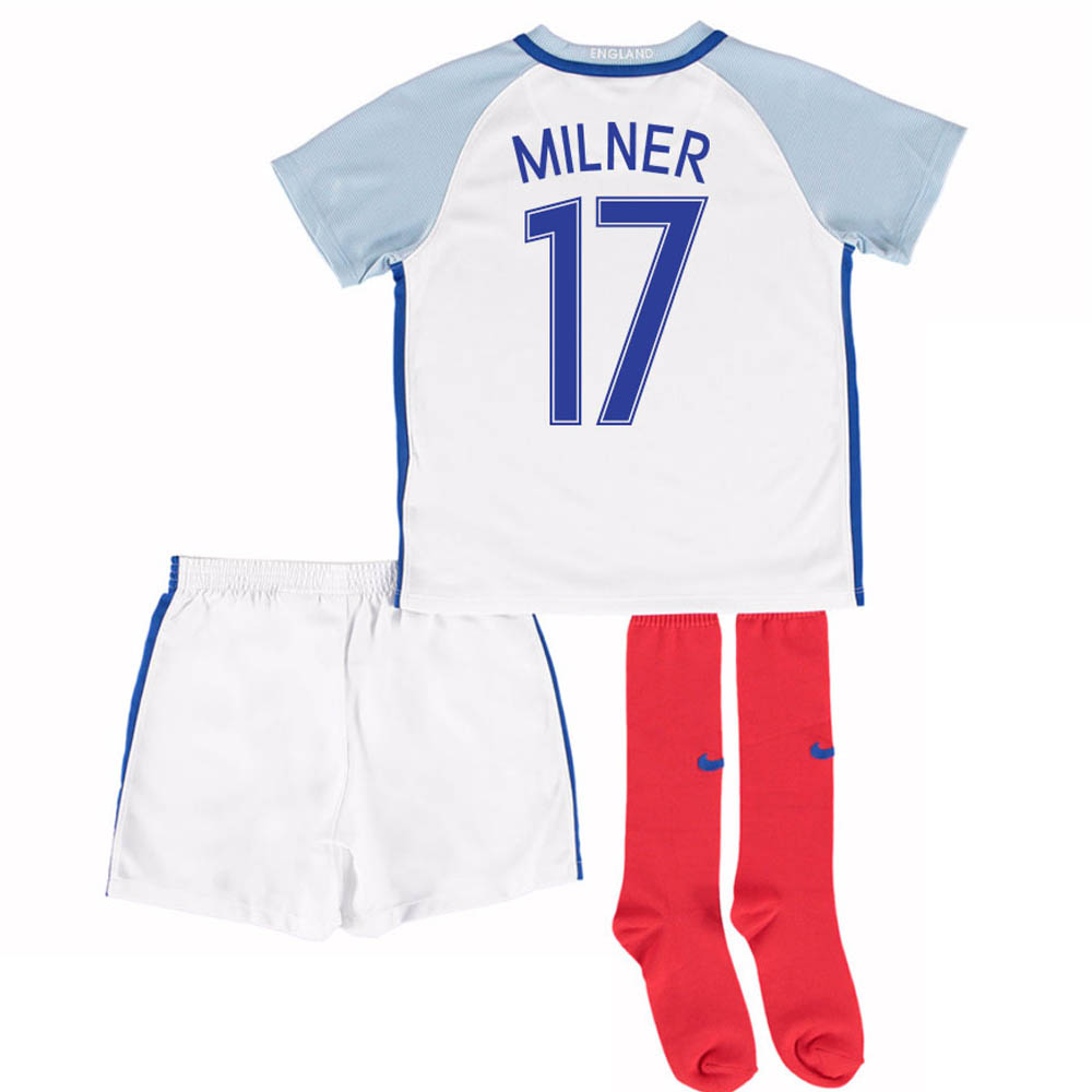 2016-17 England Home Little Boys Kit (Milner 17)