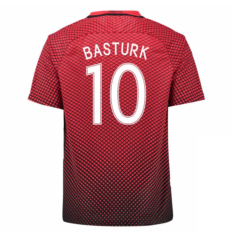 2016-17 Turkey Home Shirt (Basturk 10)