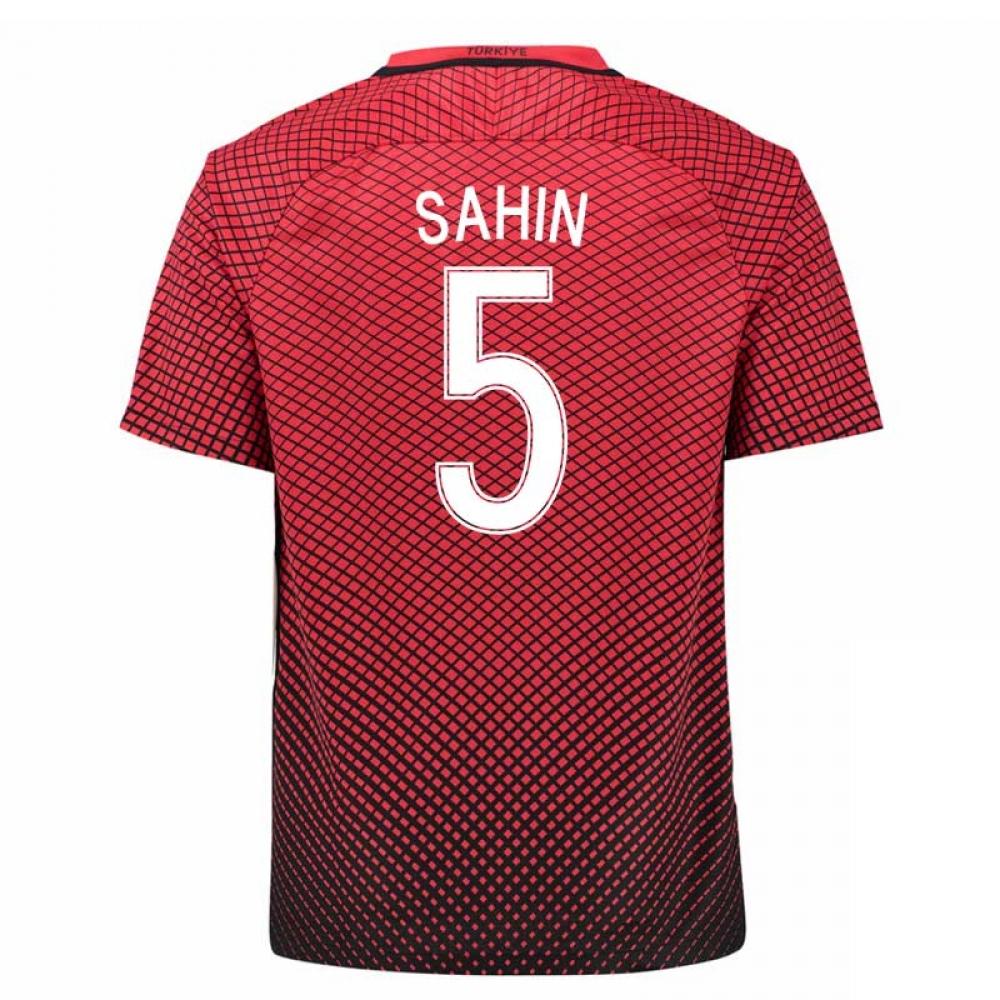 2016-17 Turkey Home Shirt (Sahin 5)