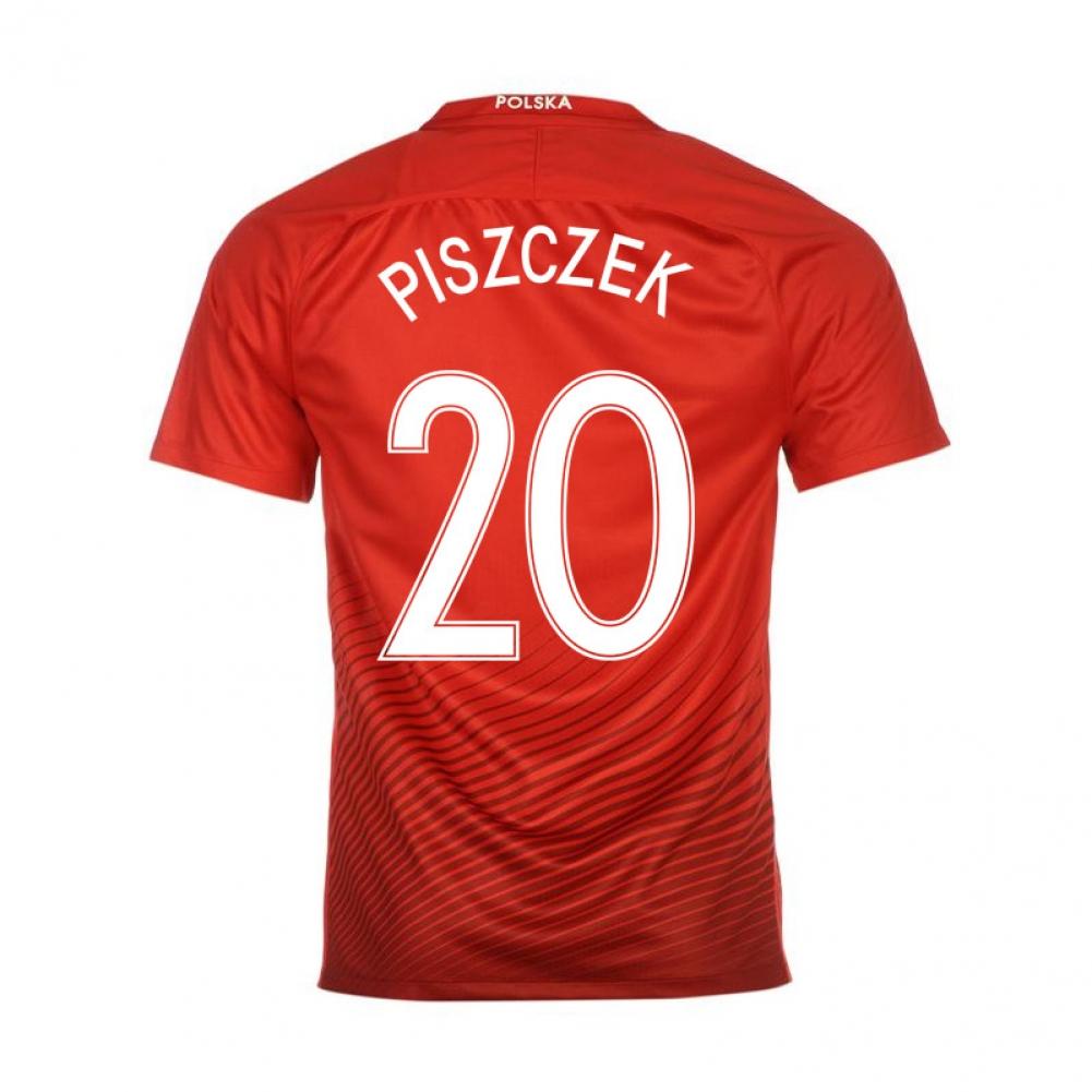 2016-17 Poland Away Shirt (Piszczek 20)