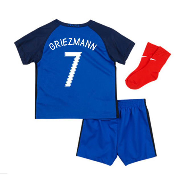 2016-17 France Home Baby Kit (Griezmann 7)