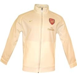 07-08 Arsenal Lineup Jacket (white)