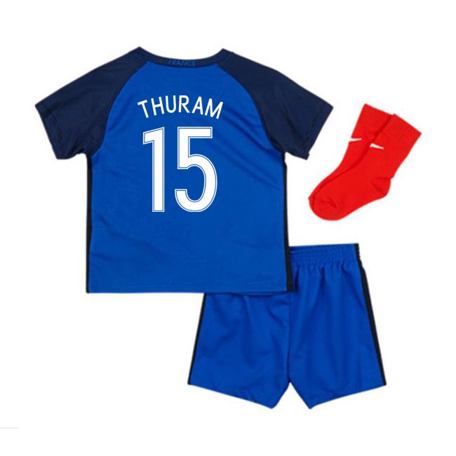 2016-17 France Home Baby Kit (Thuram 15)