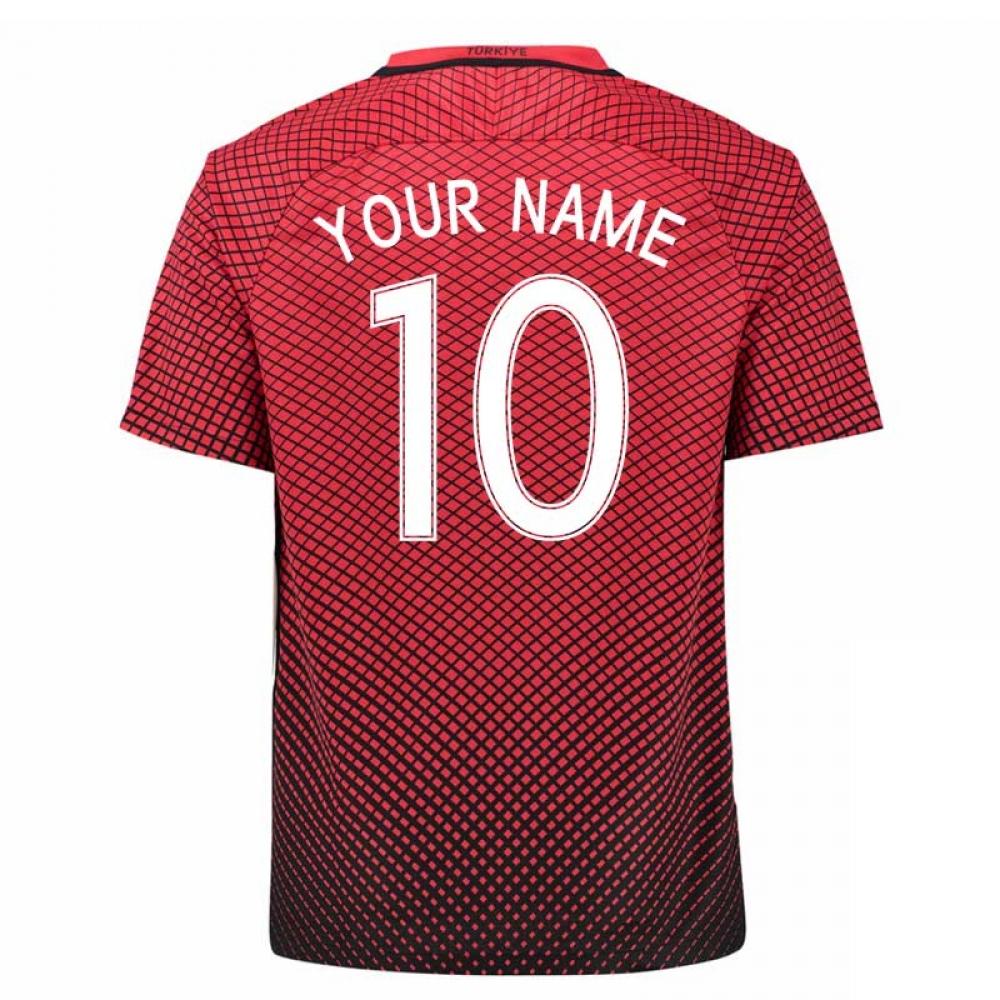 2016-17 Turkey Home Shirt (Your Name) -Kids