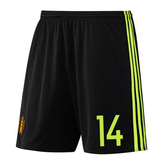 2016-17 Belgium Home Shorts (14)
