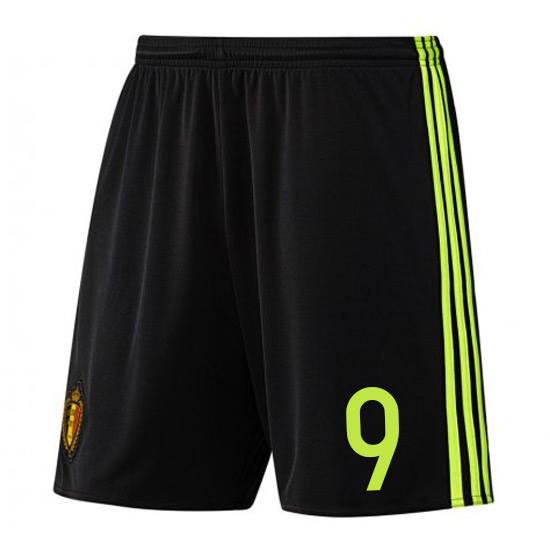 2016-17 Belgium Home Shorts (9)