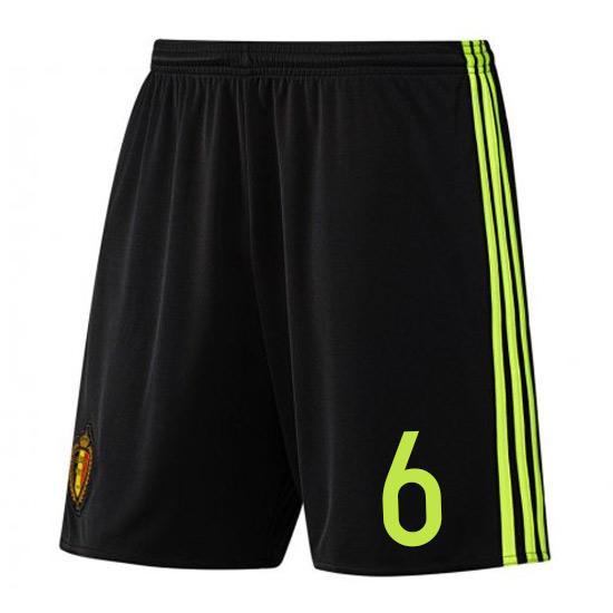2016-17 Belgium Home Shorts (6)
