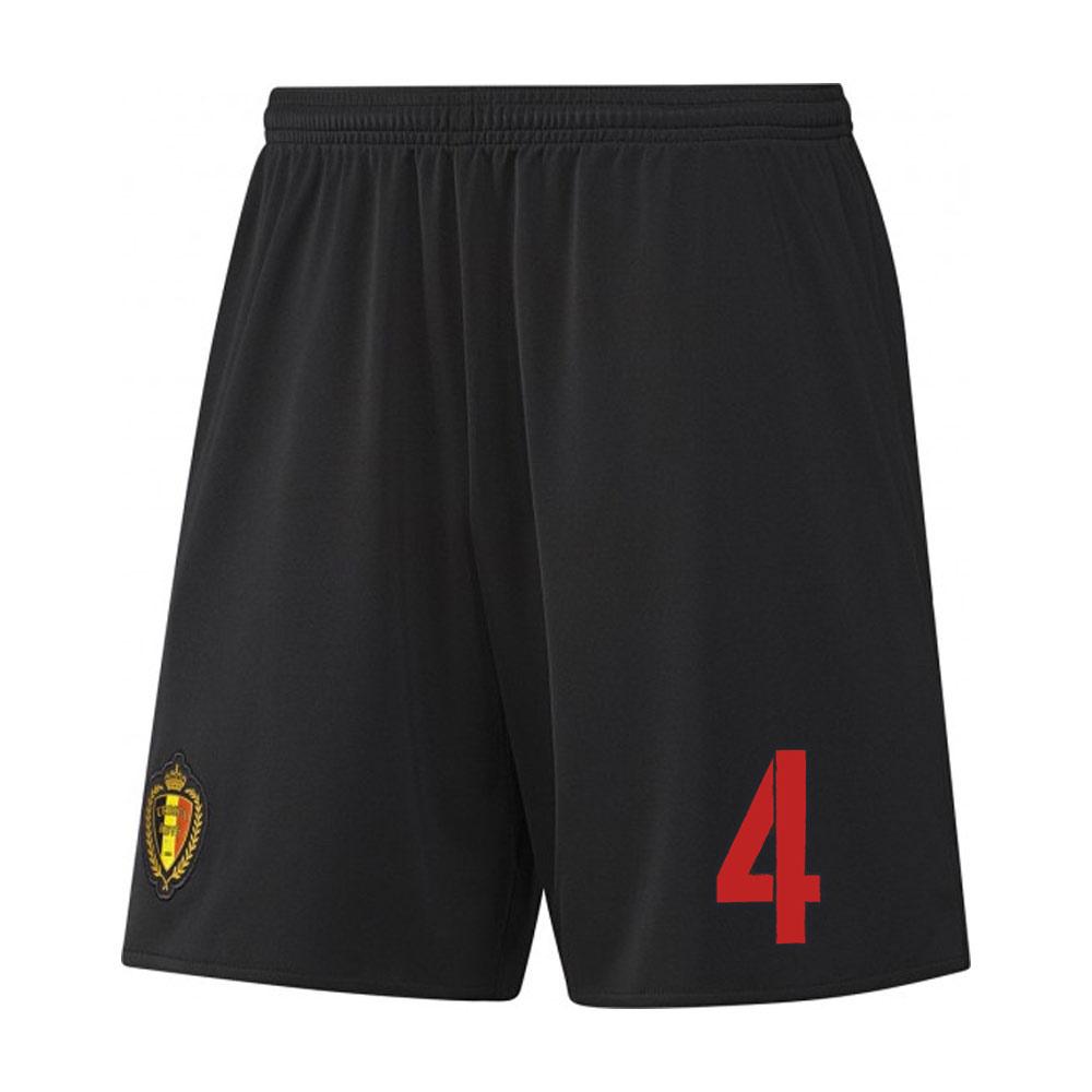 2016-17 Belgium Away Shorts (4) - Kids