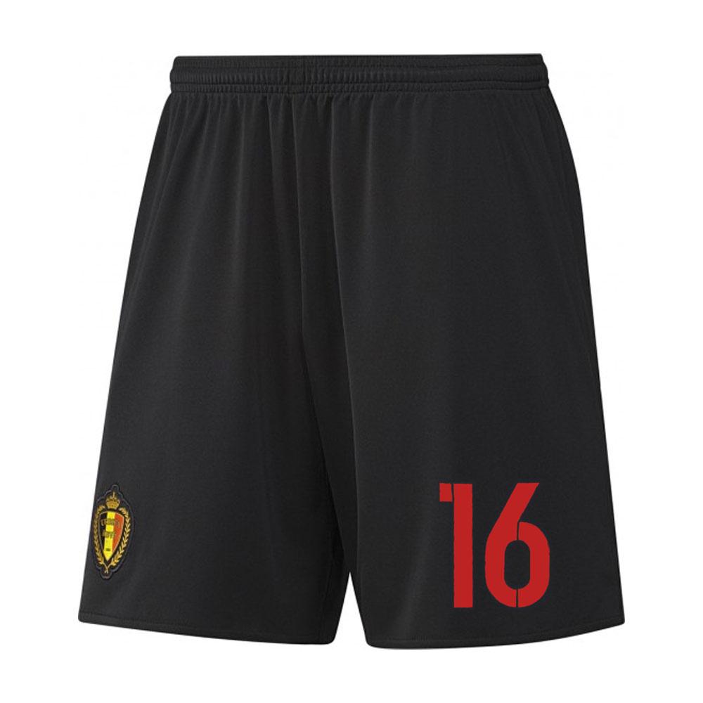 2016-17 Belgium Away Shorts (16) - Kids