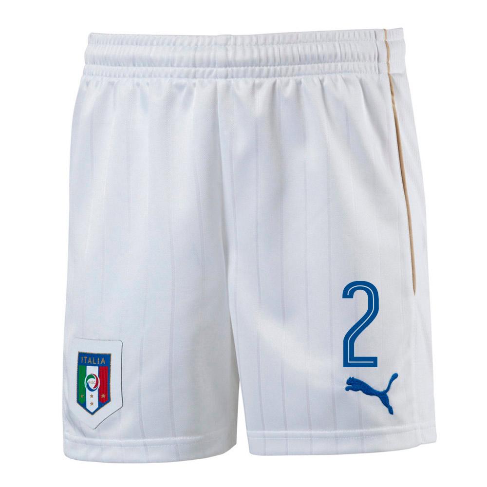 2016-17 Italy Home Shorts (2)