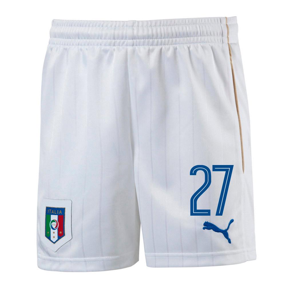 2016-17 Italy Home Shorts (27) - Kids