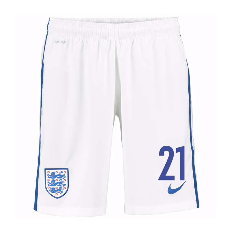 2016-17 England Home Shorts (21) - Kids