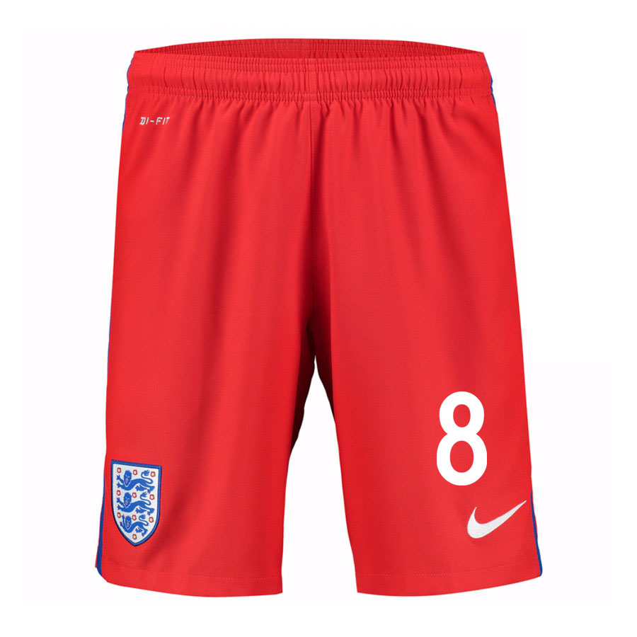 2016-17 England Away Shorts (8) - Kids