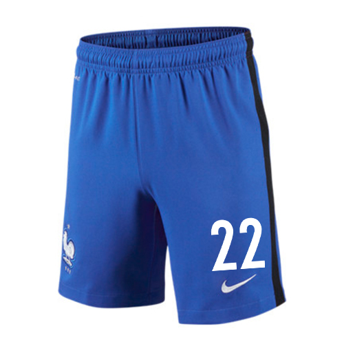 2016-17 France Home Shorts (22) - Kids
