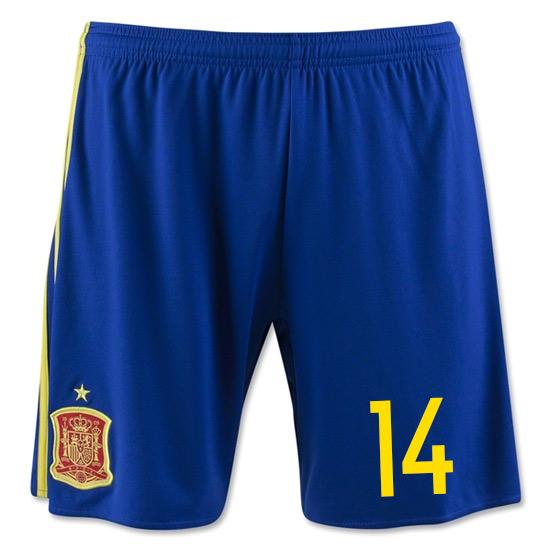 2016-17 Spain Home Shorts (14)