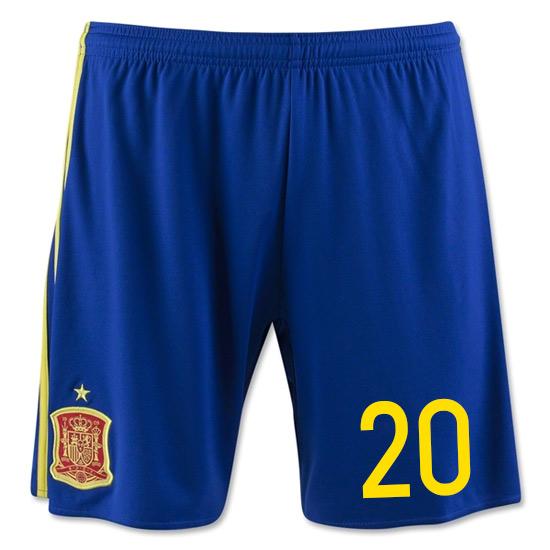 2016-17 Spain Home Shorts (20)