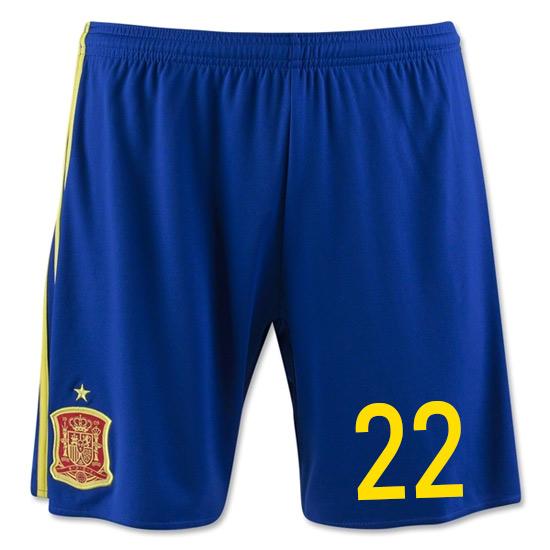 2016-17 Spain Home Shorts (22)