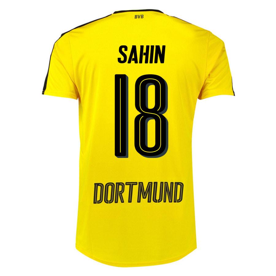 2016-17 Borussia Dortmund Home Shirt (Sahin 18) - Kids