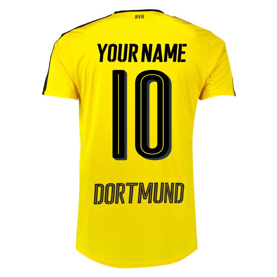 2016-17 Borussia Dortmund Home Shirt (Your Name 10) - Kids