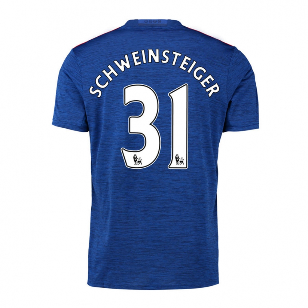 2016-17 Manchester United Away Shirt (Schweinsteiger 31)