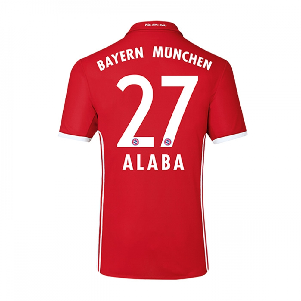 2016-17 Bayern Home Shirt (Alaba 27) - Kids