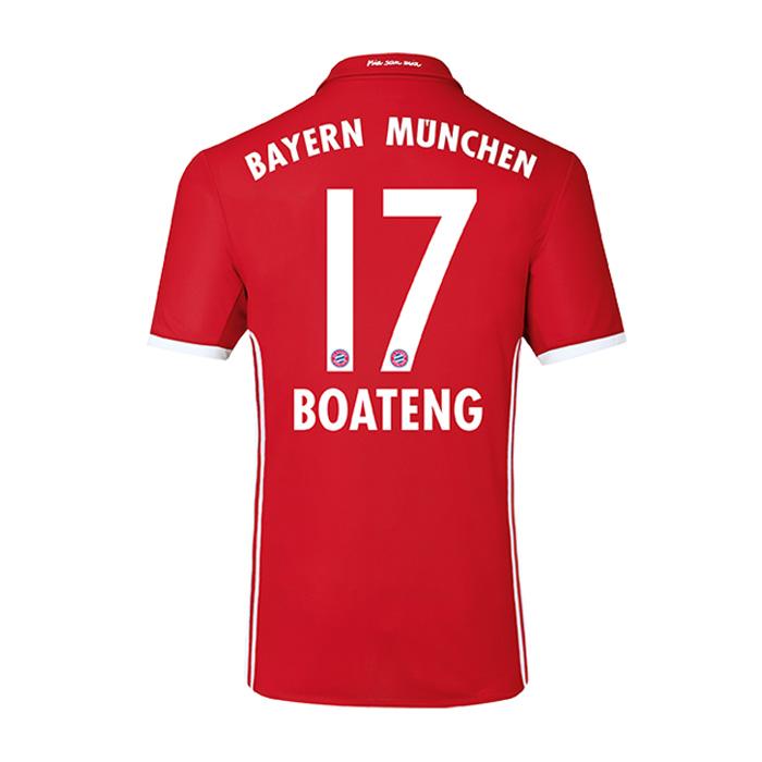 2016-17 Bayern Home Shirt (Boateng 17)
