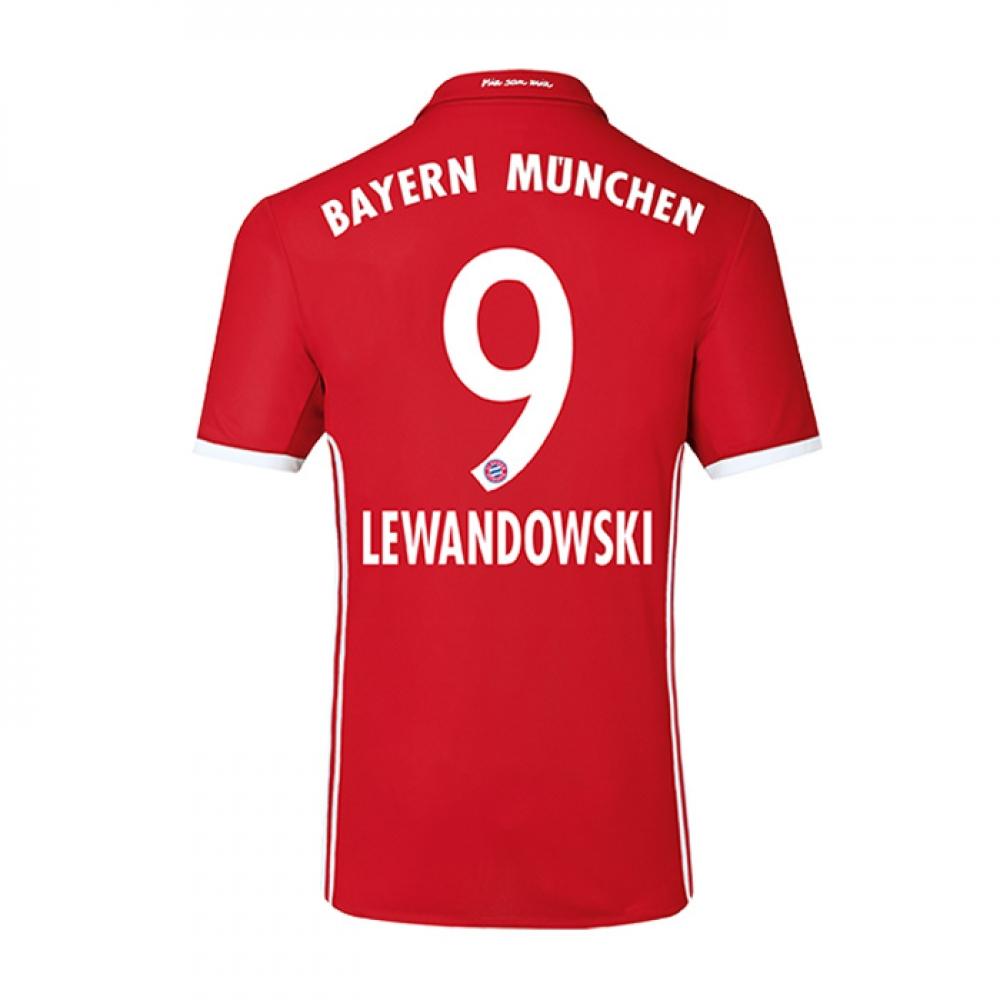 2016-17 Bayern Home Shirt (Lewandowski 9) - Kids