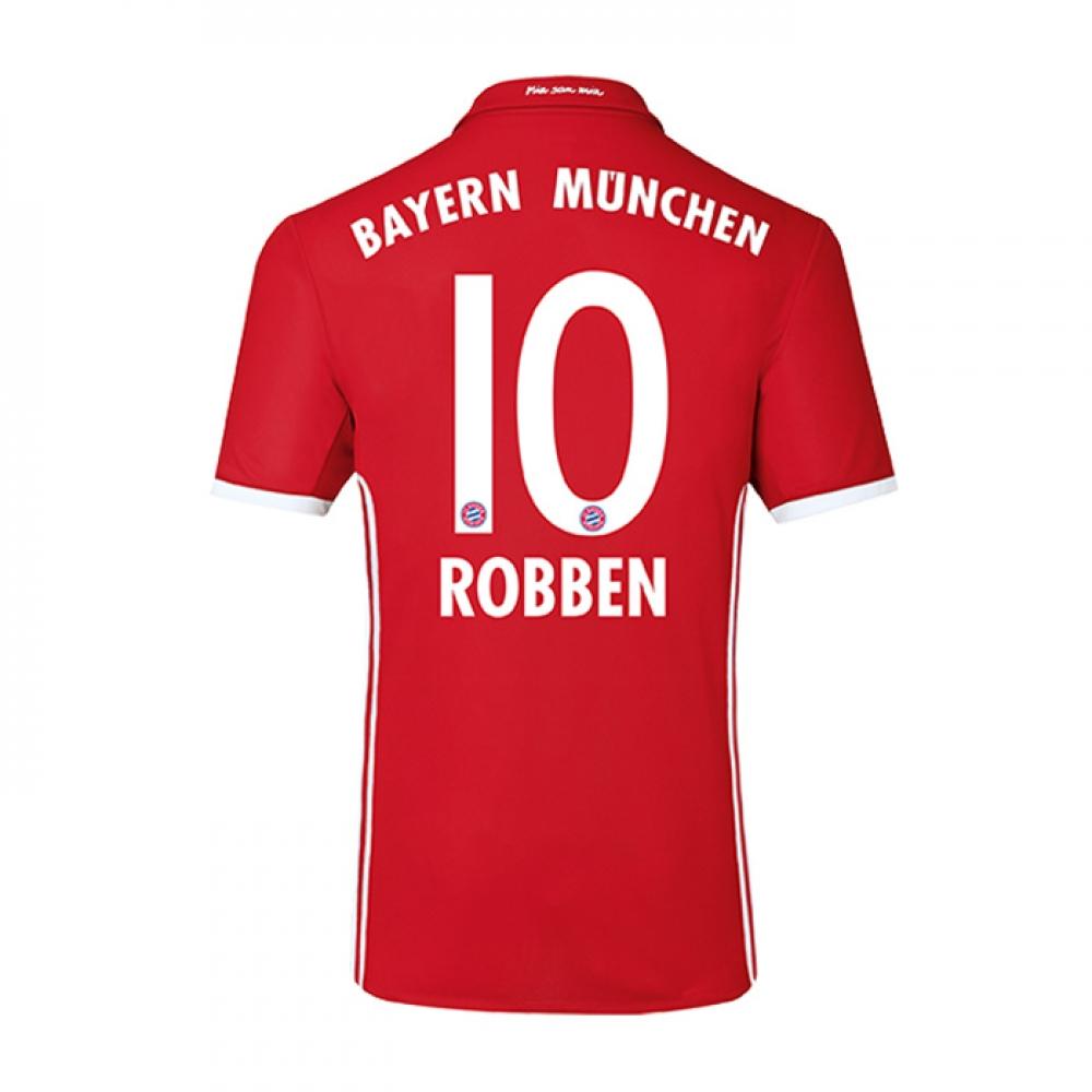 2016-17 Bayern Home Shirt (Robben 10)