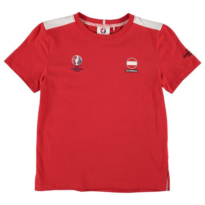 Albania UEFA Euro 2016 Core T-Shirt (Red) - Kids