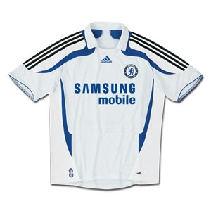 07-08 Chelsea 3rd (with Champions League style printing)