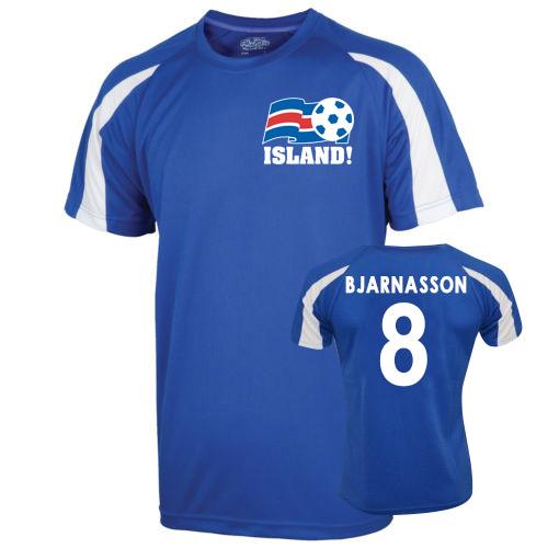 2016-17 Iceland Sports Training Jersey (Bjarnasson 8) - Kids