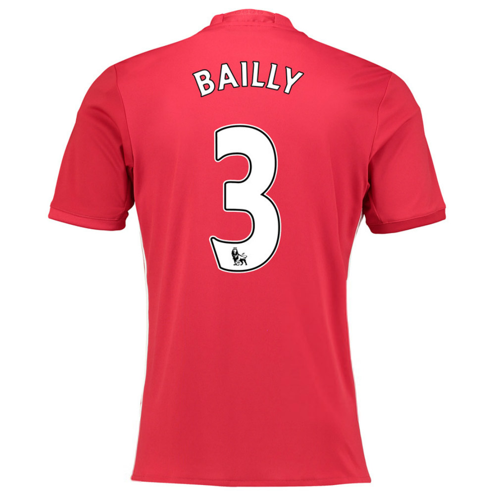 2016-17 Manchester United Home Shirt (Bailly 3) - Kids