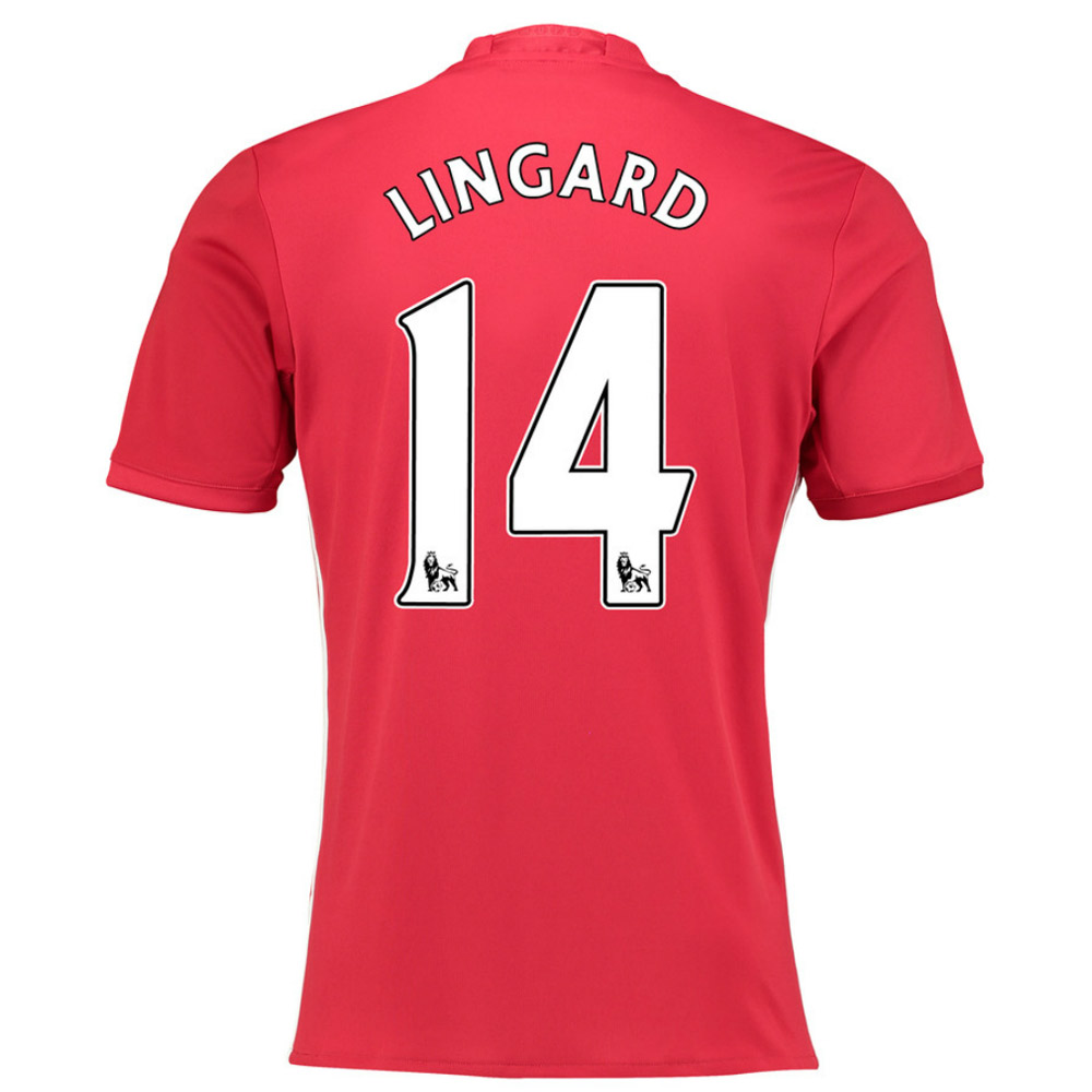 2016-17 Manchester United Home Shirt (Lingard 14) - Kids